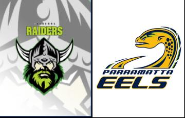 Result Canberra Raiders 40 34 Parramatta Eels Love Rugby League