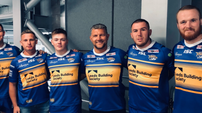 067a612772e Leeds have revealed their new look home kit for the 2019 season.
