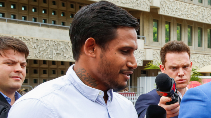 Dumped NRL star Ben Barba sentenced after guilty plea